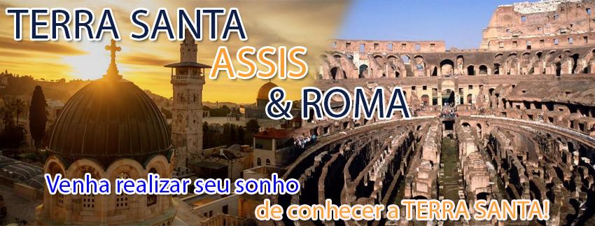 Terra Santa, Assis & Roma - Out/Nov 2016
